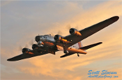B-17 Flying Fortress Poster 14x20